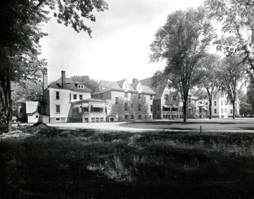 The Albert-Prévost Sanatorium founded in 1919.
